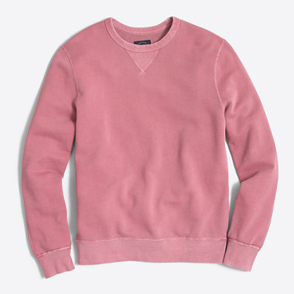 Tall sunwashed garment-dyed crewneck sweatshirt
