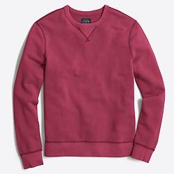Sunwashed garment-dyed crewneck sweatshirt