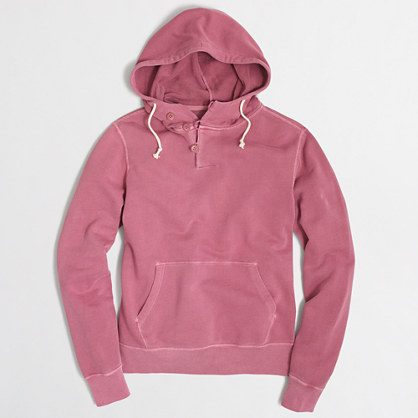 Sunwashed garment-dyed hoodie