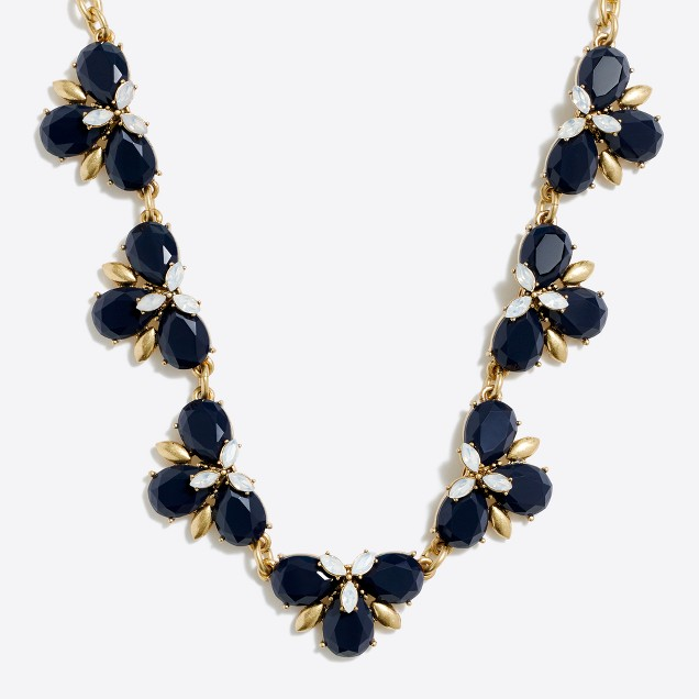 Mini-clusters necklace