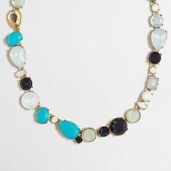 Asymmetrical shapes necklace