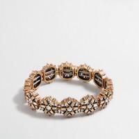 Crystal medallions bracelet