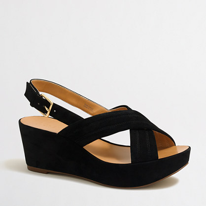 Darcy suede wedges