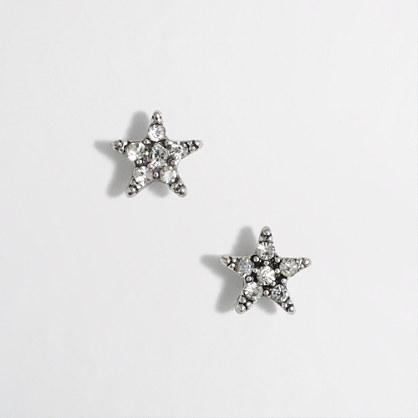 Crystal points earrings
