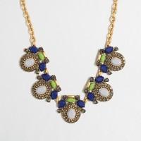 Framed stones necklace