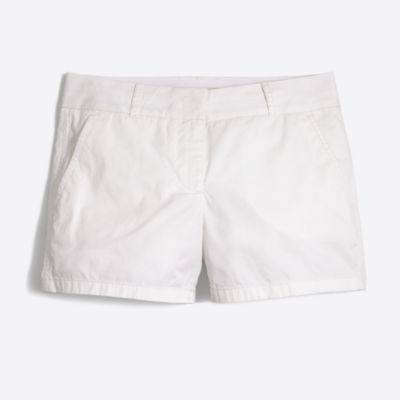 "4"" white chino short factorywomen shorts c"