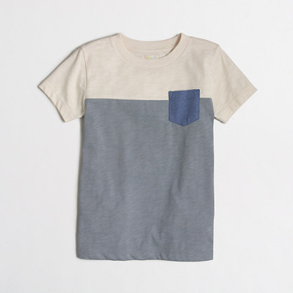 Boys' heathered colorblock T-shirt