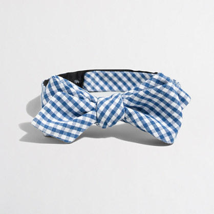 Oxford cotton bow tie