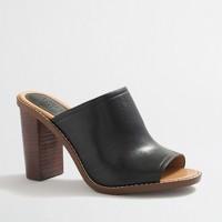 Margo leather mules