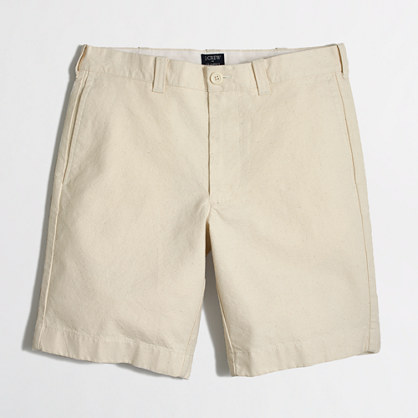 "9"" textured canvas Gramercy short"