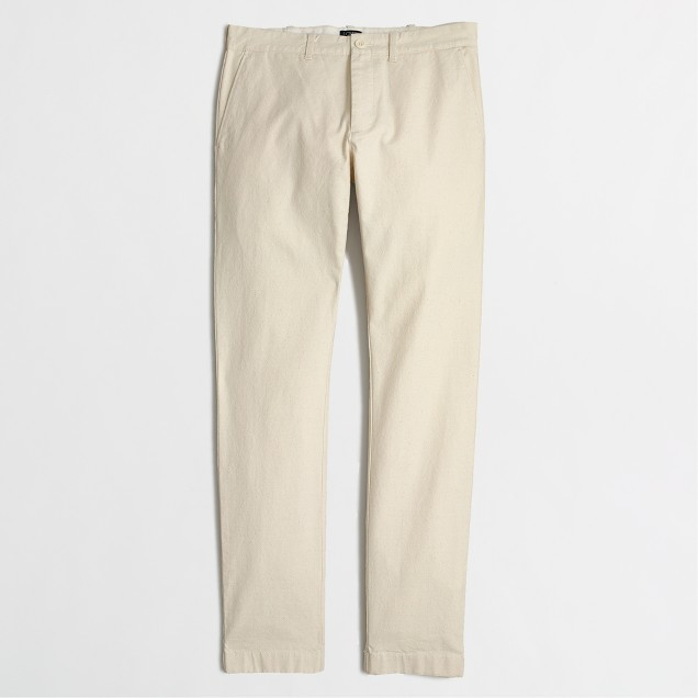 Driggs textured canvas pant