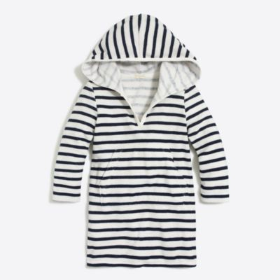 Girls' printed hooded terry cover-up factorygirls shirts, t-shirts & tops c