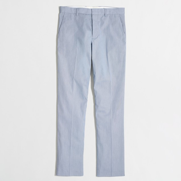 Slim Thompson suit pant in corded cotton