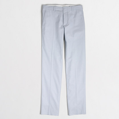 Factory slim Thompson suit pant in oxford