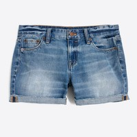Cutoff denim short in Liza wash