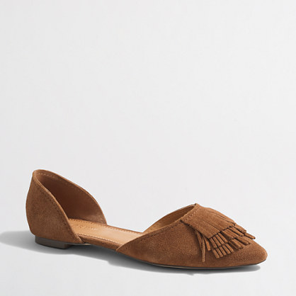 Classic d'Orsay flats with fringe