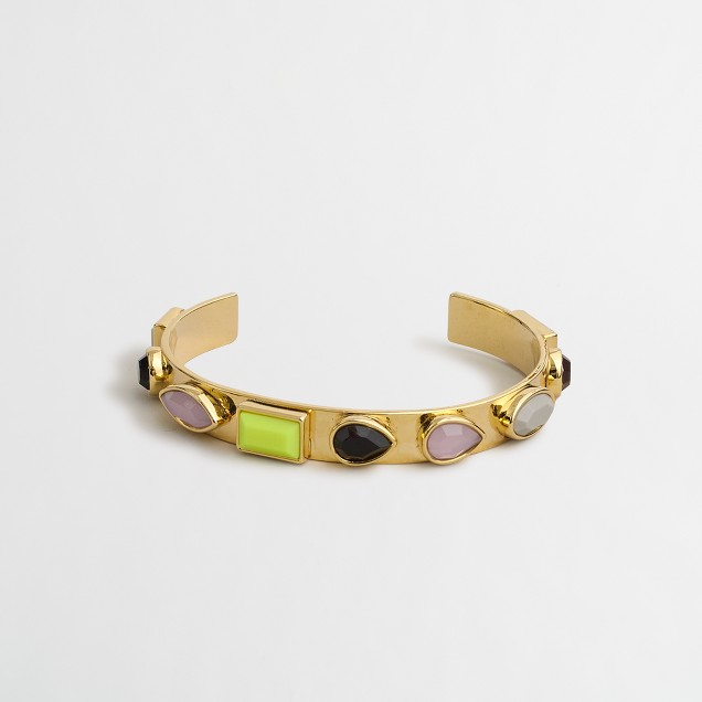 Multi-jeweled bracelet