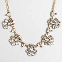 Fanned clusters necklace