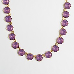 Factory wraparound crystal necklace