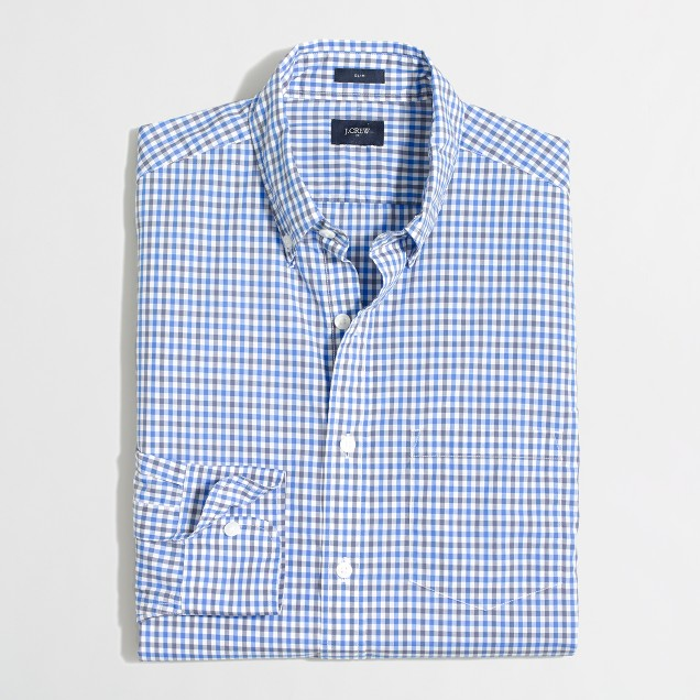 Lightweight washed shirt