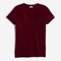 Short-sleeve sweater