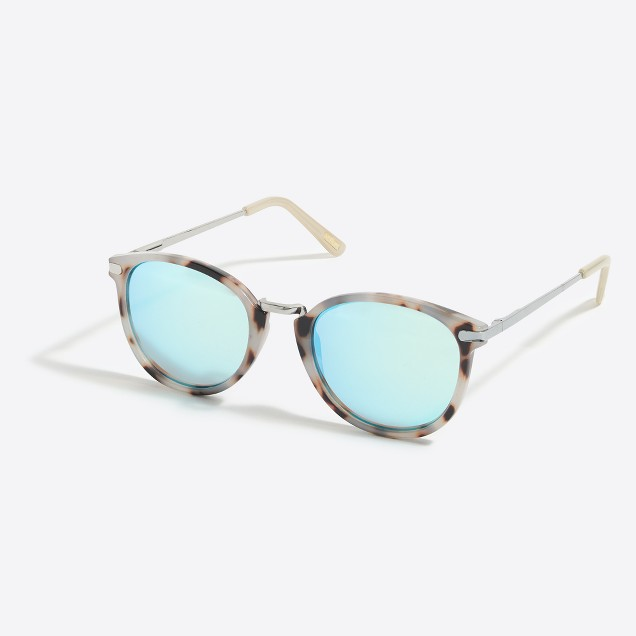 Mixed-media sunglasses