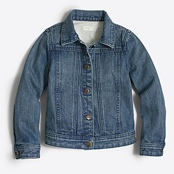 Factory girls' denim jacket