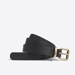 Factory textured belt