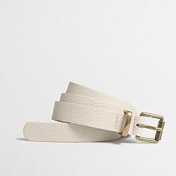 Factory textured belt