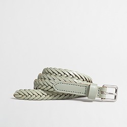 Factory braided belt