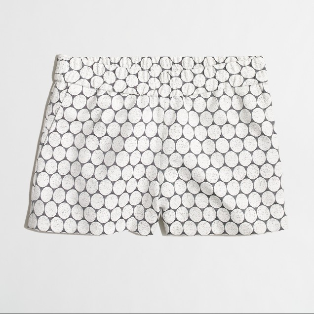 "3"" polka-dot boardwalk pull-on short"