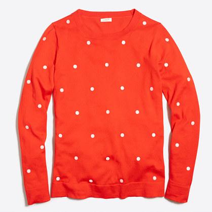 Polka-dot Teddie sweater