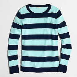 Factory striped Teddie sweater