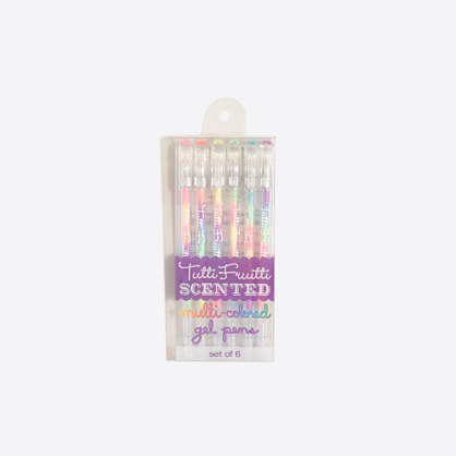 Kids' International Arrivals™ scented multicolored gel pens