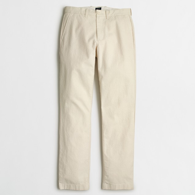 Sutton textured canvas pant