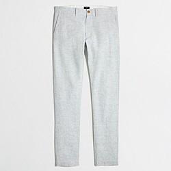 Driggs linen-cotton pant