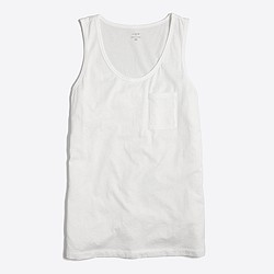 Factory piece-dyed tank top