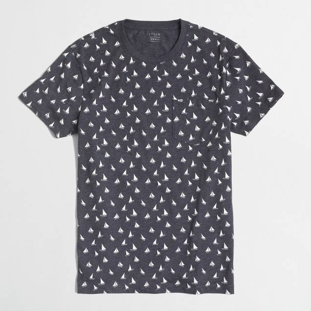 Slim sailboat T-shirt