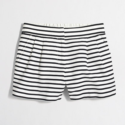 "4"" striped pull-on short"