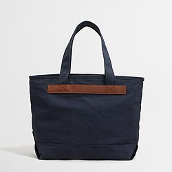 Factory canvas tote bag