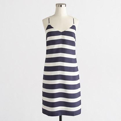 Printed racerback dress
