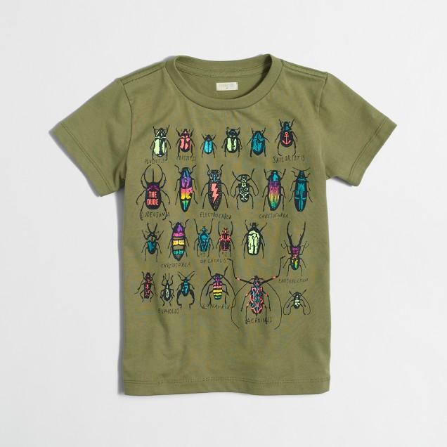 Boys' beetles storybook T-shirt