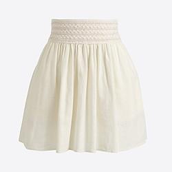 Factory gauze skirt