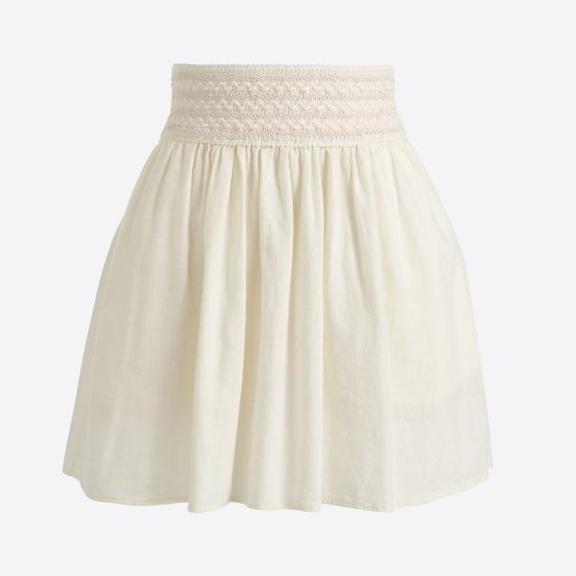 Gauze skirt