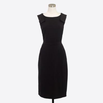 Bow-shoulder dress