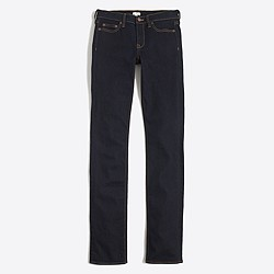 "Factory  rinse wash straight and narrow jean with 29"" inseam"