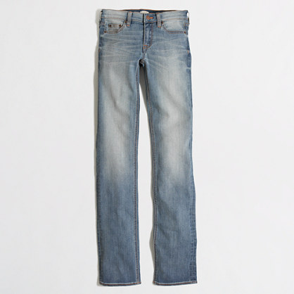 "Davidson wash straight and narrow jean with 29"" inseam"