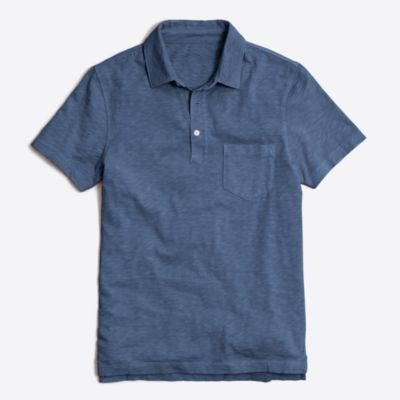 Sunwashed garment-dyed polo factorymen t-shirts & henleys c