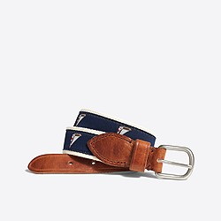 Boys' emroidered belt