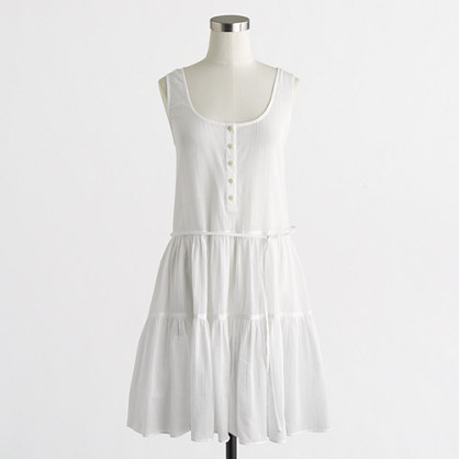 Henley tank dress